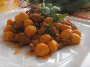 ñoquis, algo qué comer en Roma