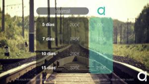 comparacion precios de interrail y avion para viajar barato por europa