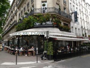 Para visitar París y tomar algo, el café de flore