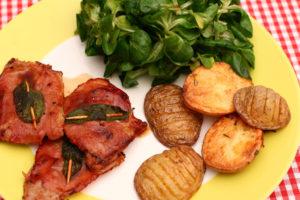 saltimbocca a la romana saber qué comer en roma