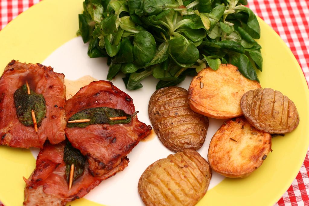 qué comer en roma saltimbocca a la romana