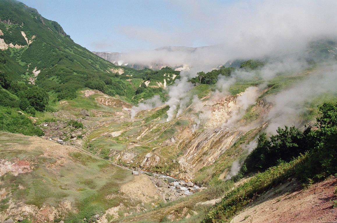 geisers valle geyser rusia