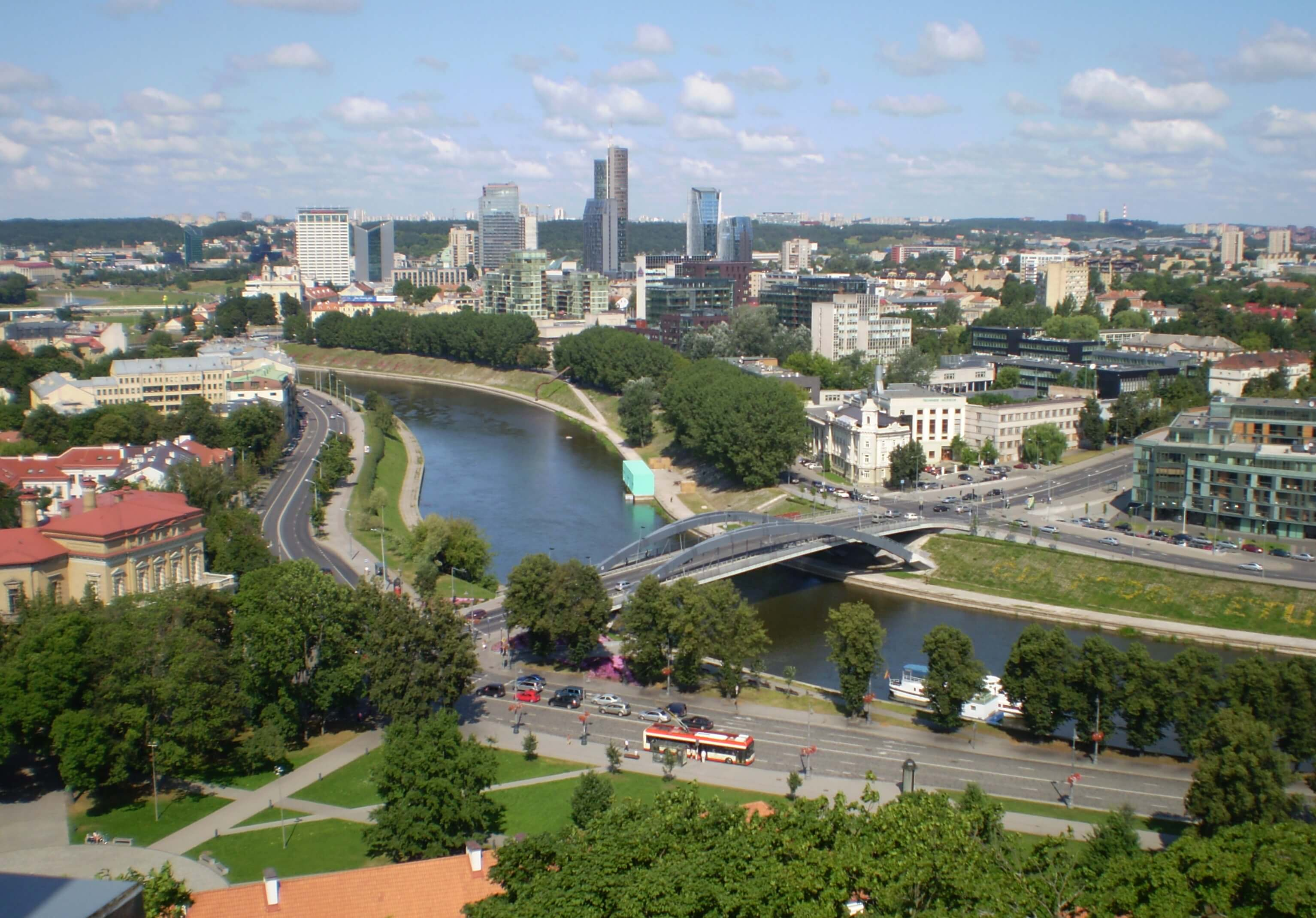 las ciudades más baratas de Europa Vilnius