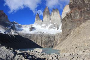 dónde viajar solo Chile Torres del Paine