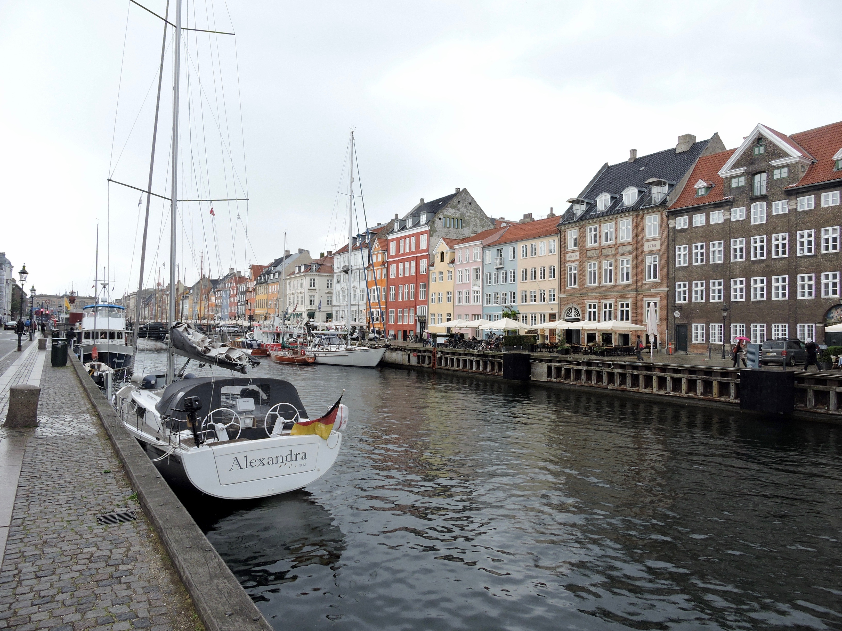 Interrail en Copenhague