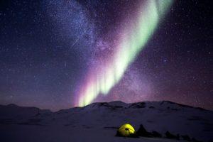 dónde ver la aurora boreal alaska