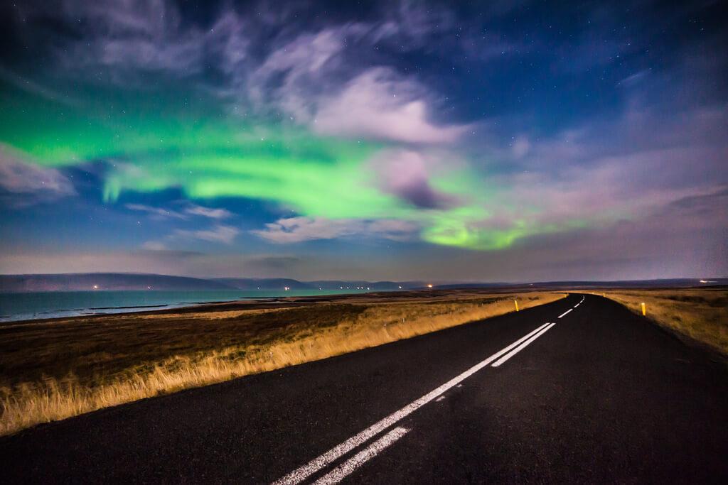 dónde ver la aurora boreal islandia
