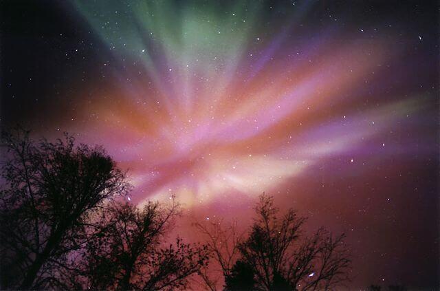 dónde ver la aurora boreal noruega