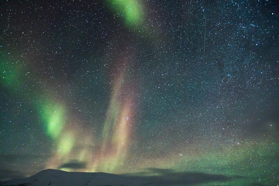dónde ver la aurora boreal suecia