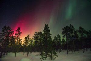 dónde ver la aurora boreal