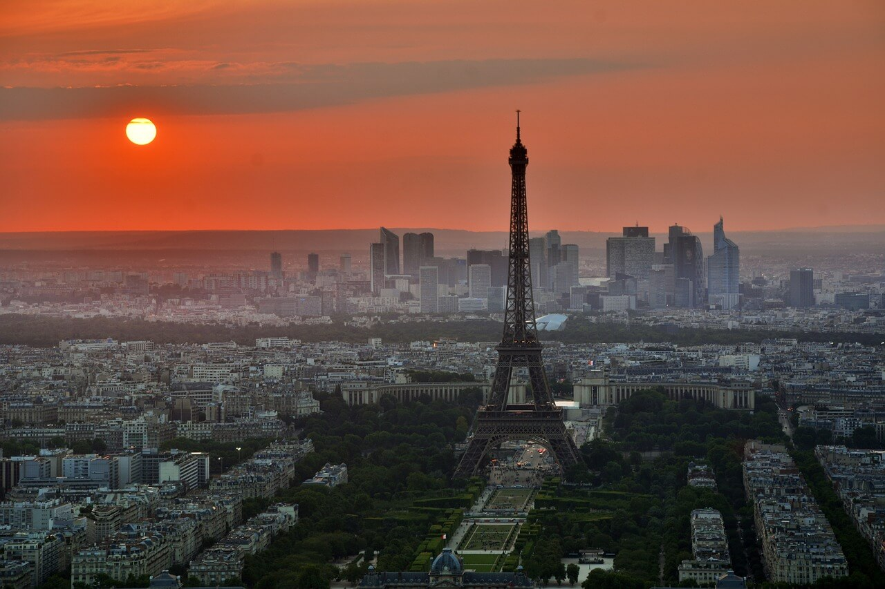 dónde viajar en septiembre paris