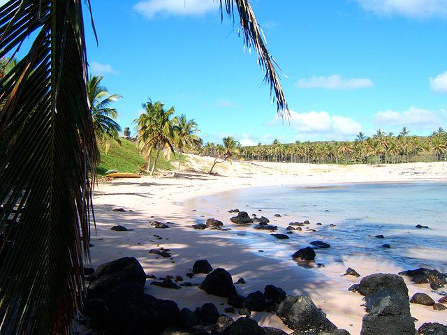 isla de pascua anakena