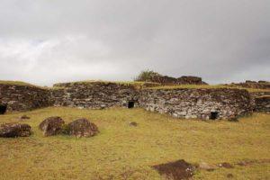 isla de pascua Orongo