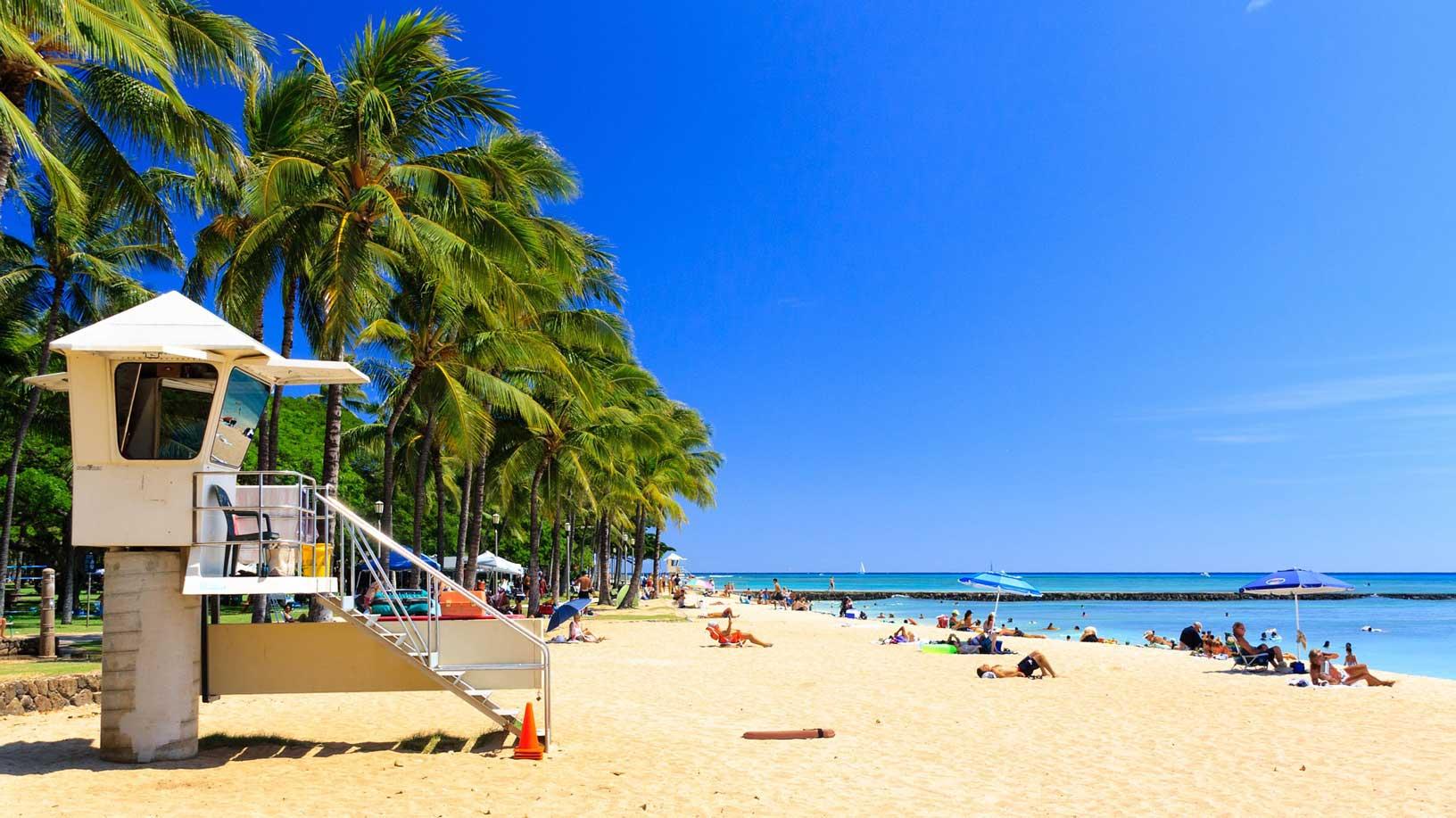 dónde ir de luna de miel hawaii