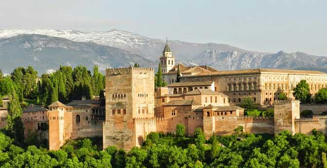 qué ver en Europa Alhambra