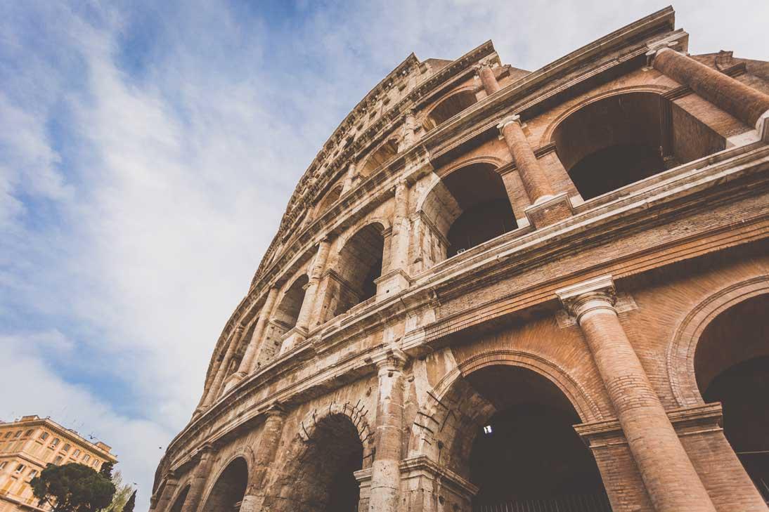 qué ver en Europa coliseo romano
