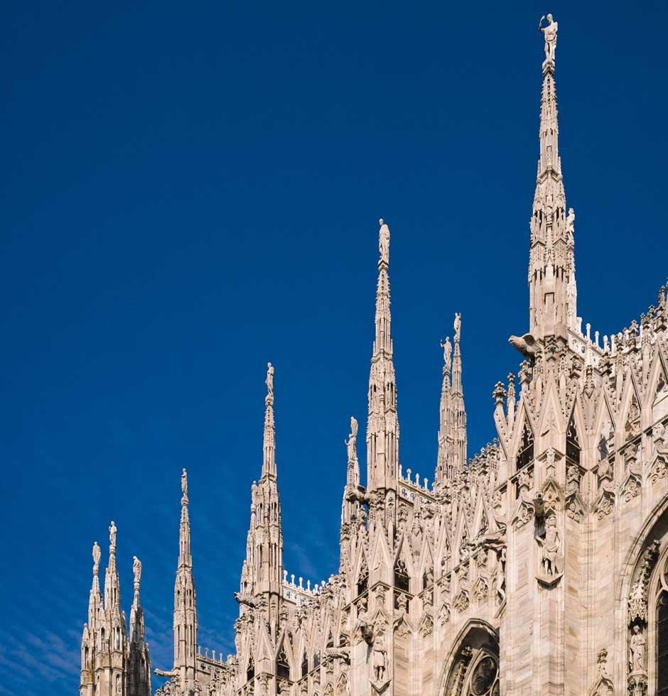 qué ver en Europa Milán Duomo