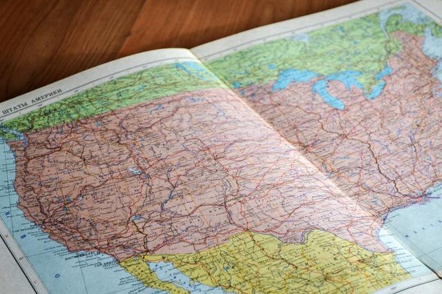 viajero mapa