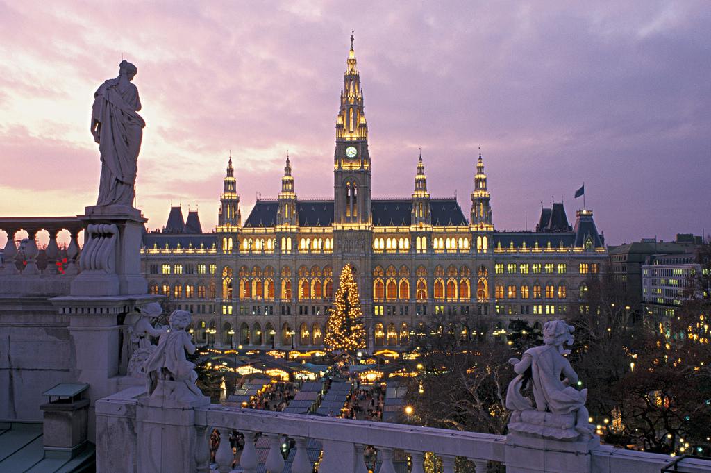 Viajar en diciembre Viena