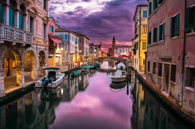 viajar a europa venecia