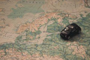 pase de avión para recorrer Europa