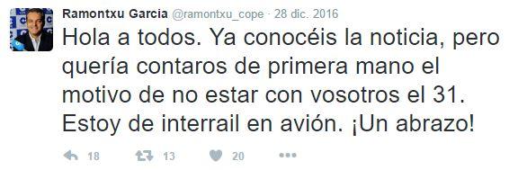 tuit broma Ramón García