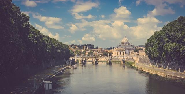 dónde viajar en enero Roma Airhopping