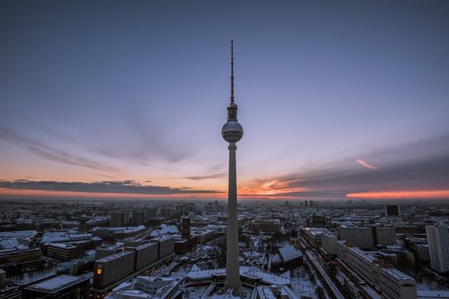 dónde viajar en enero Berlín Airhopping