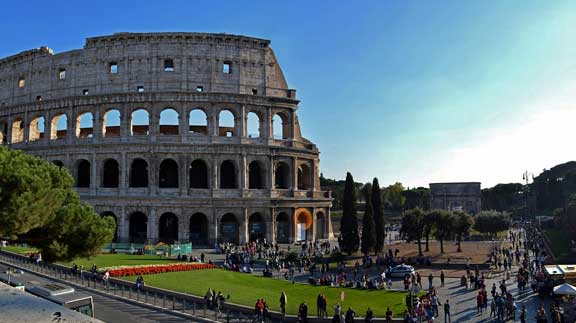 viaje a Roma Airhopping Coliseo
