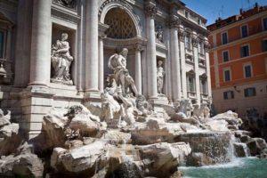 viaje a Roma Airhopping fontana di trevi