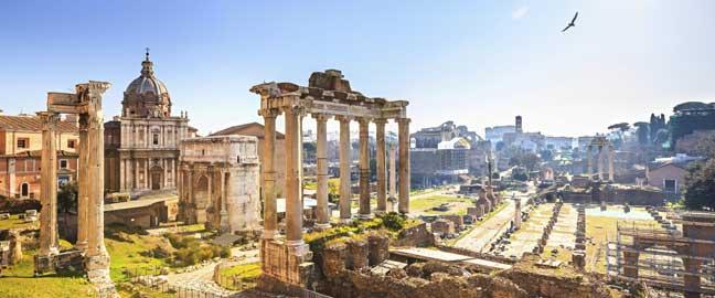 viaje a Roma Airhopping Foro Romano