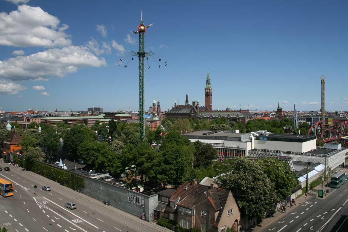 vuelos a Copenhague tivoli airhopping