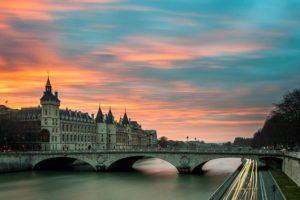 puente de paris atardecer ruta airhopping