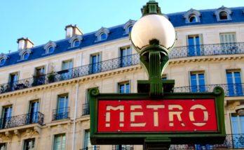 metro de parís transporte público