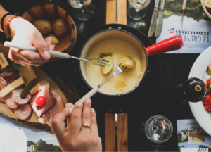 fondue queso comida tipica francia