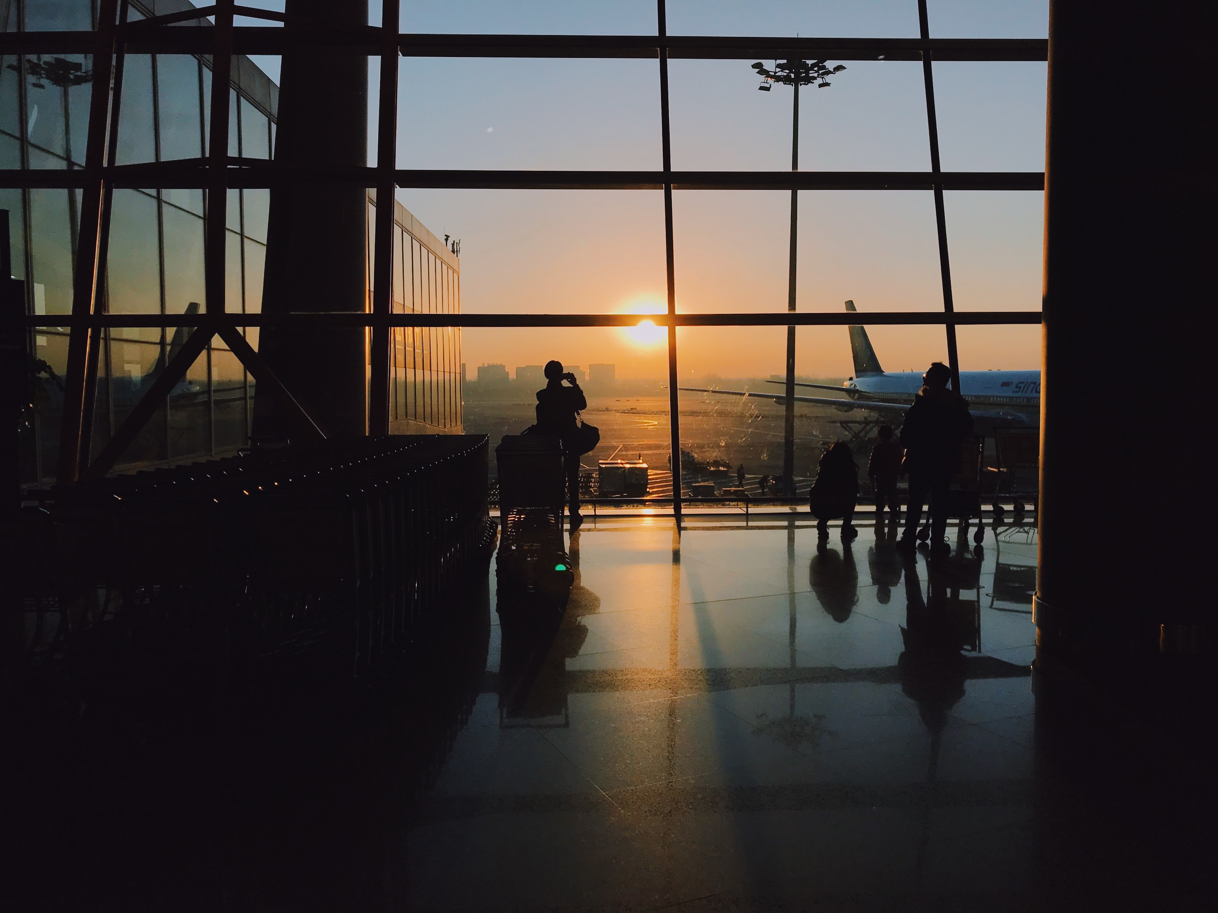 como llegar aeropuerto guia airhopping