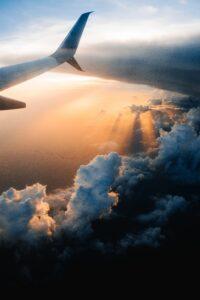 avion cielo despegue airhopping